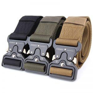 Tactical Military Heavy Duty Buckle Belt